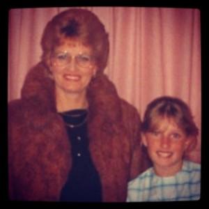 Mum & I circa 1985