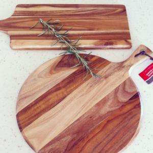 Wooden Bread / Cheese Boards $10 each K-mart