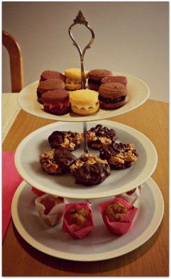 Biscuits,Florentines and Mini Muffins