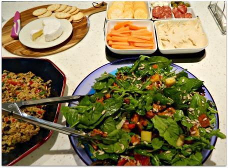 Roasted Potato & Pumpkin Salad