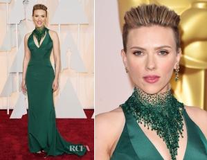 Amazing Scarlett in Atelier Versace